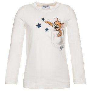 T-shirt MONNALISA stelle strass
