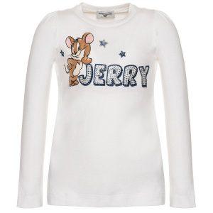 T-shirt MONNALISA Jerry strass