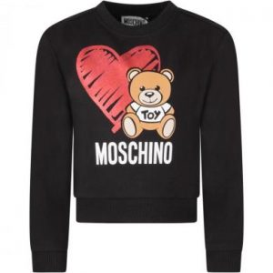 FELPA CON CUORE E MOSCHINO TEDDY BEAR