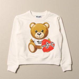 Felpa Moschino cuore Teddy Bear