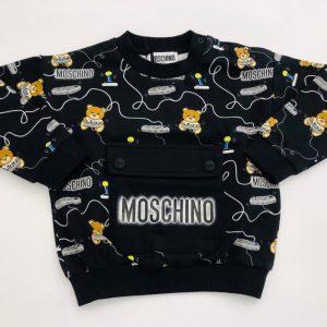 Felpa Moschino tasca neonato