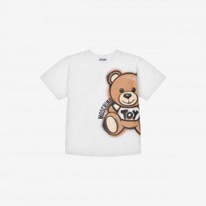 MAXI T-SHIRT MOSCHINO SPRAY TEDDY BEAR