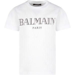 T-SHIRT LOGO BALMAIN